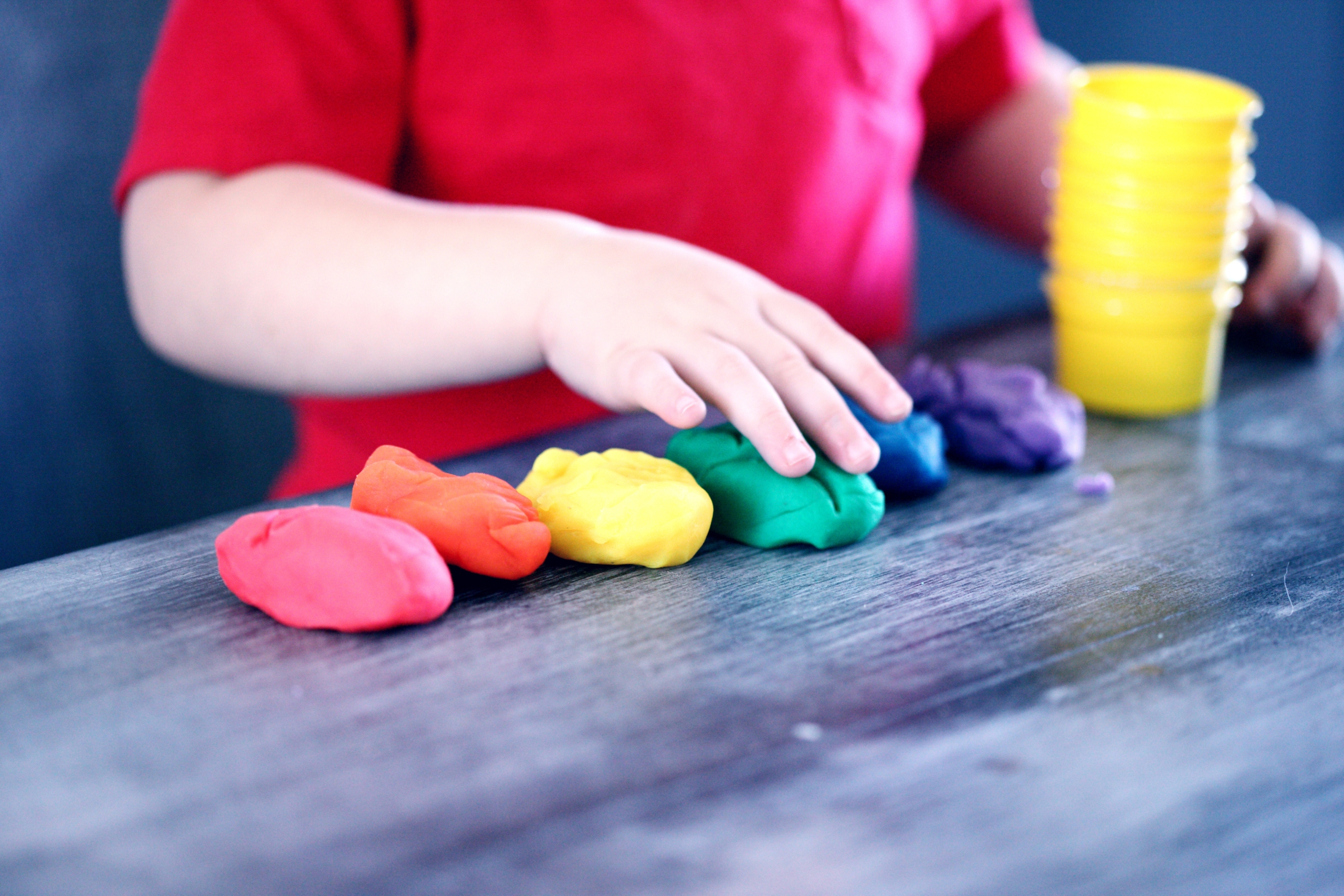 Playing with Playdoh